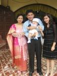 Andrew di Baptis 26 Desember 2006 di Pintubatu Kampung halamannya dihadiri Paman dan Tante nan Cantik yee