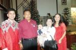 Andrew kecil sudah ikut dalam perayaan Natal Bersama Karyawan Otorita Batam dan Pemko Batam tahun 2006